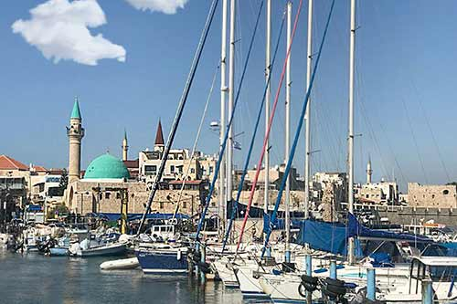 A tour of the port of Acre Itsik Litani-500
